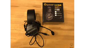 Headsets mit Schallschutz <br> EARMOR M32 VS. ZTAC COMTAC 2