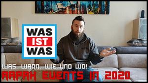 RAPAX EVENTS 2020 <br> REAL TALK
