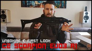 CZ Scorpion EVO3 A1 <br> UNBOXING