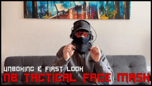 NB TACTICAL FACE MASK <br> UNBOXING