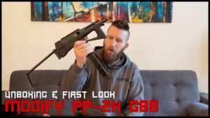 MODIFY PP-2K GBB <br> UNBOXING
