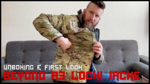 BEYOND A3 Lochi Jacke <br> UNBOXING