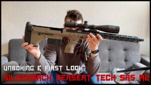 Silverback Desert Tech SRS A2 <br> UNBOXING