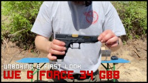 Read more about the article WE G Force 34 GBB <br> UNBOXING