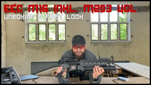 Read more about the article E&C M16 inkl. M203 UGL <br> UNBOXING